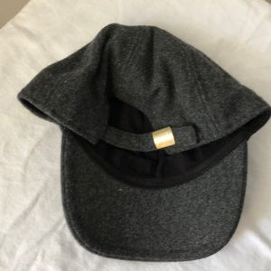 Madewell Accessories - MADEWELL WOOL BLEND BASEBALL CAP CHARCOAL GREY 673993a66a01